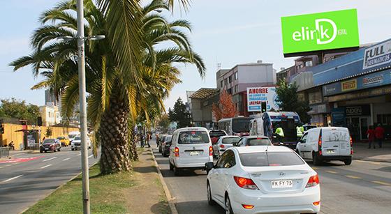 <b>Avda. Los Carrera esq. Lincoyán</b></br>(sector centro Concepción)