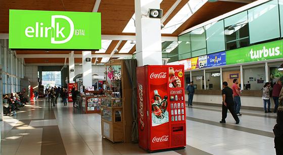 <b>Video Wall Terminal de Buses Collao</b></br>(Collao)